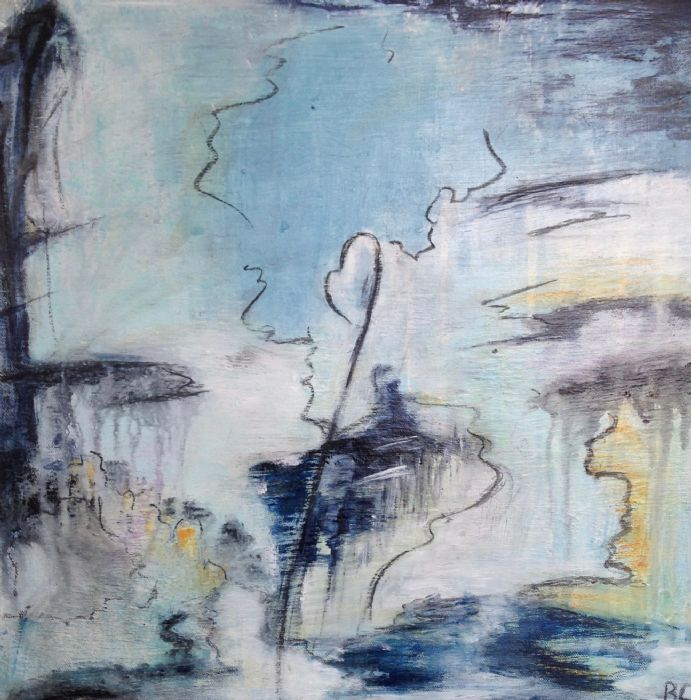 Blue Scripple | Birgit Langborg
