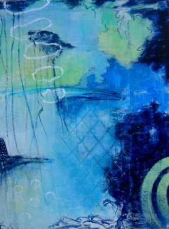 Blue SaintafBirgit Langborg