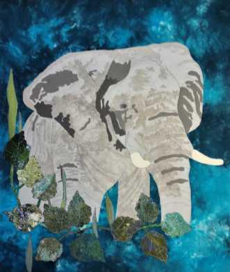 Min afrikanske elefan..