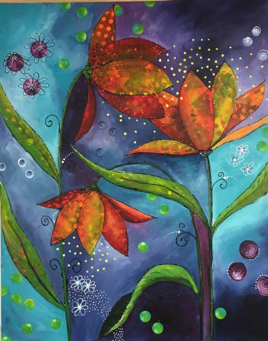 Fantastiske blomster | Eva Vig