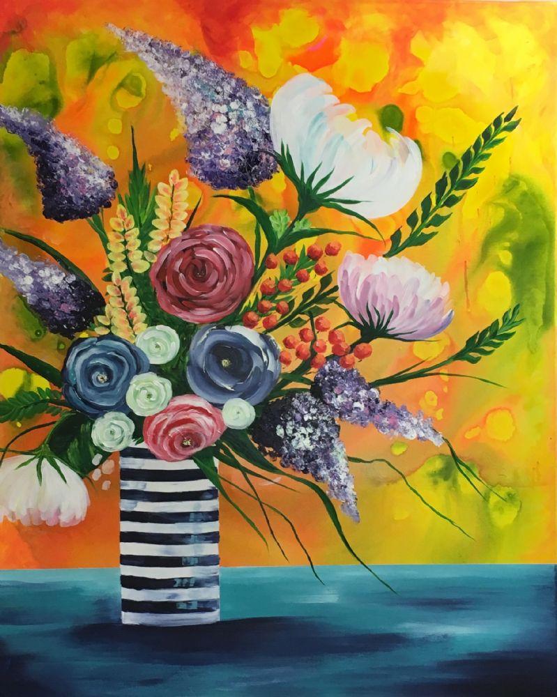 Blomster i K-vase | Eva Vig