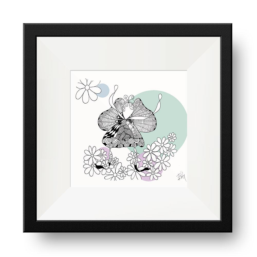 Blomster Engel | Eva Vig
