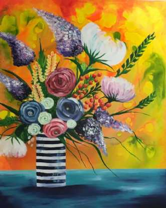 Blomster i K-vase