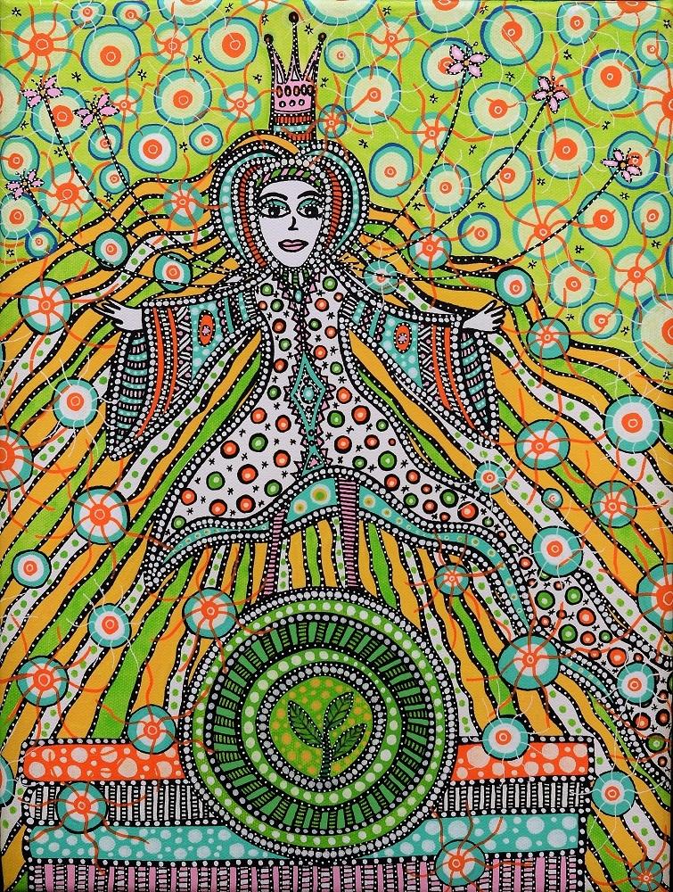 Prinsessen på ærten | Tegning