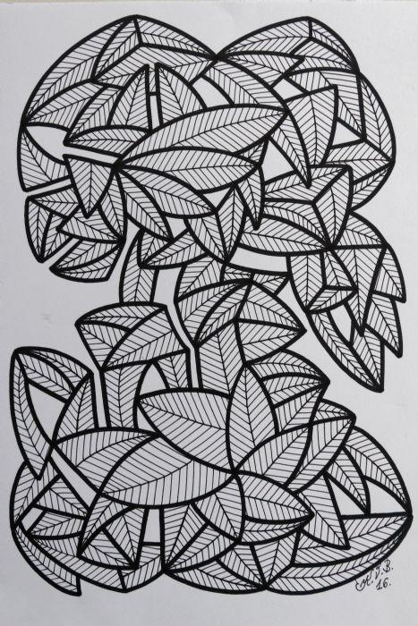 Abstrakt 1 | Tegning