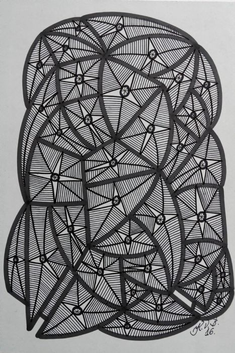 Abstrakt 2 | Tegning