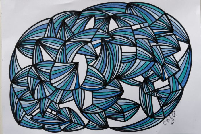 Abstrakt 3 | Tegning