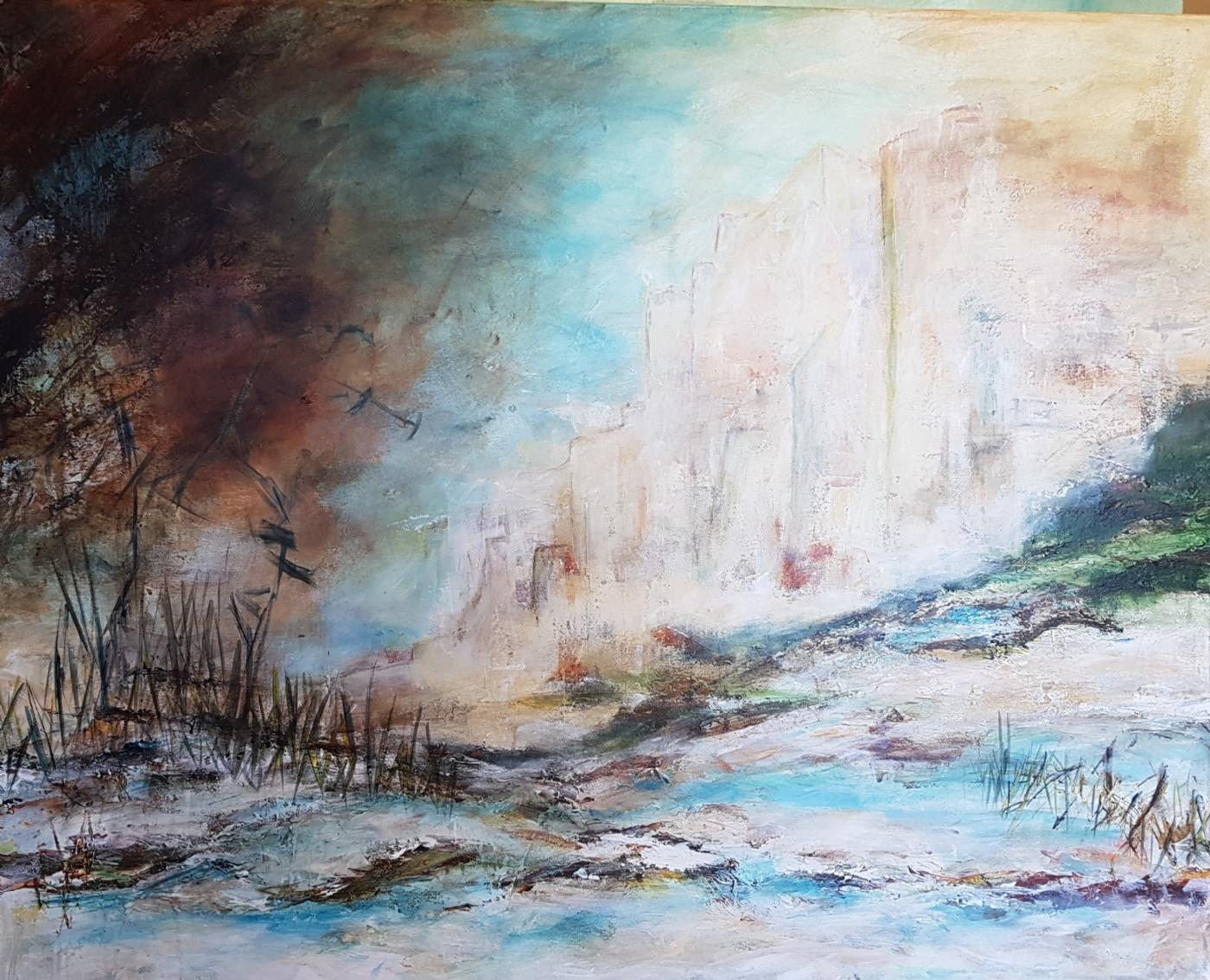 Ved Klinten | Maleri