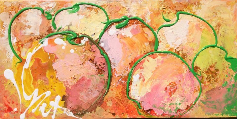 Søde Æbler   Maleri