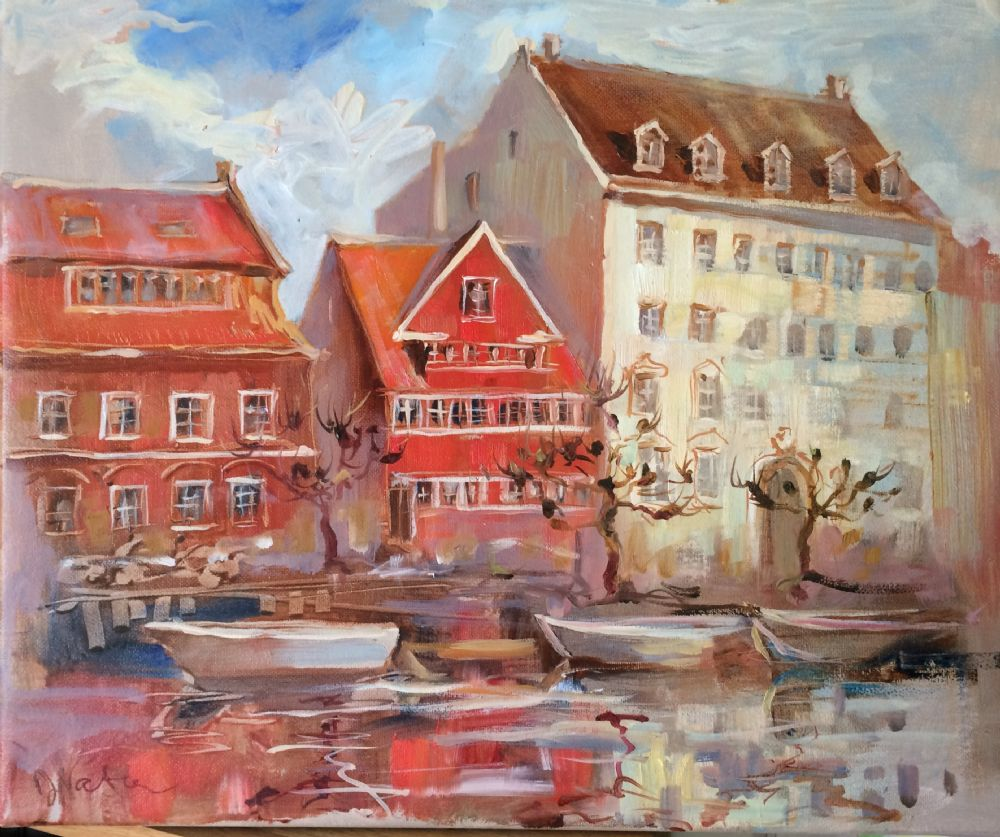 Christianshavn I | Maleri