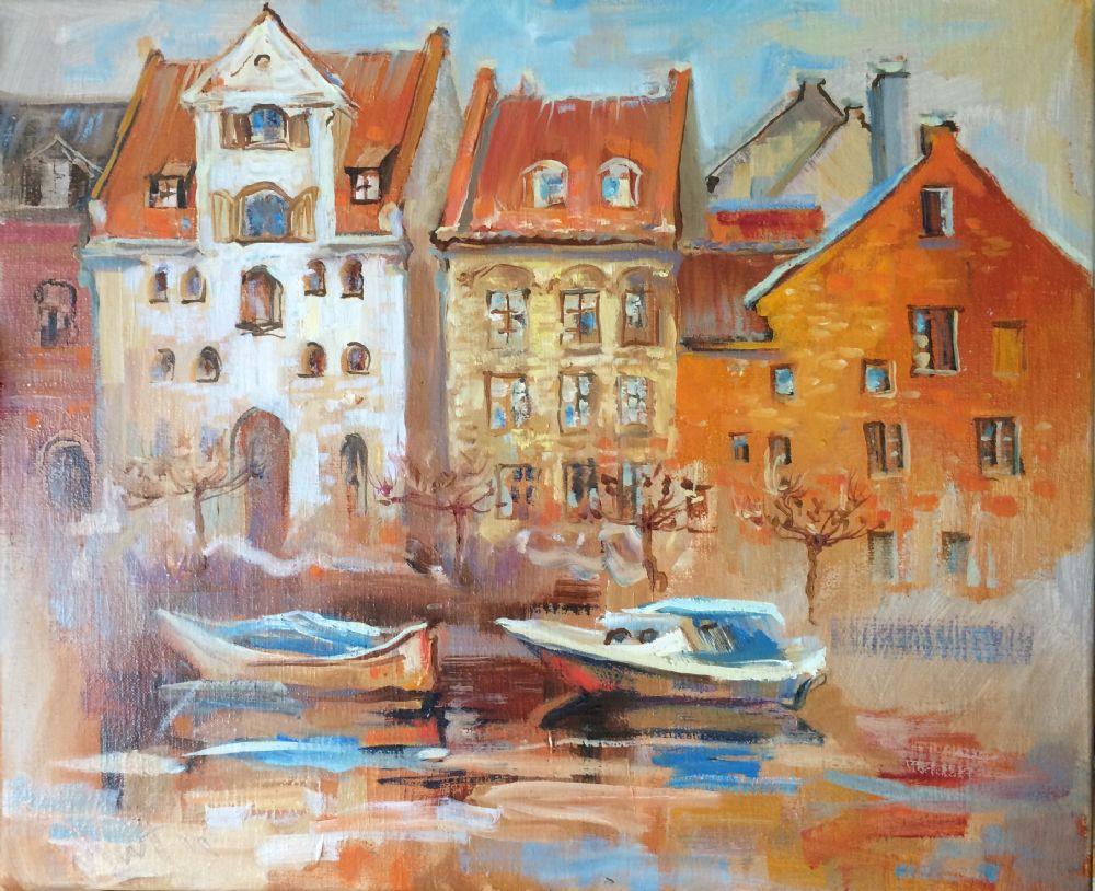 Christianshavn II | Natalia Fedoseeva Watts