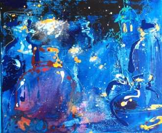 Blå aften IIafNatalia Fedoseeva Watts