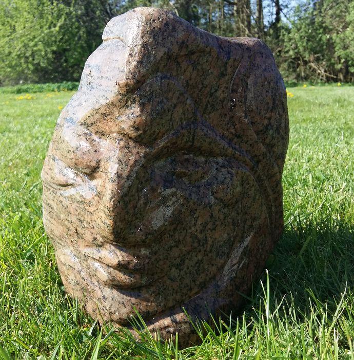 Stone 4 | Skulptur | Detail 1
