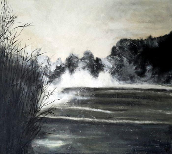 Morning mist | Maleri