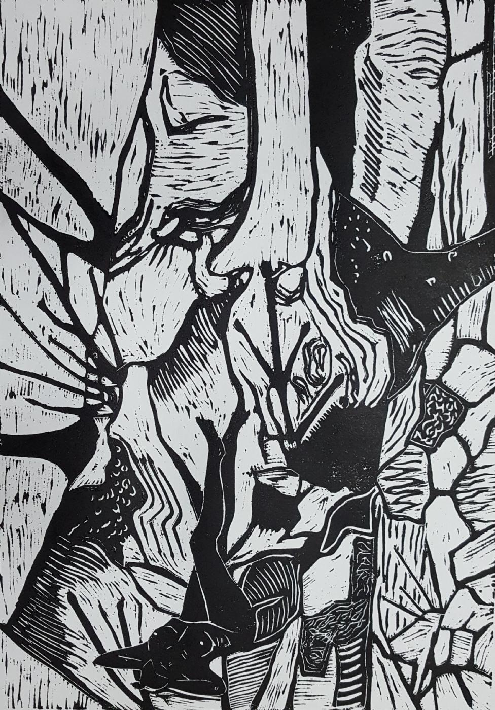 'Naturens finurligheder IV' | Maleri