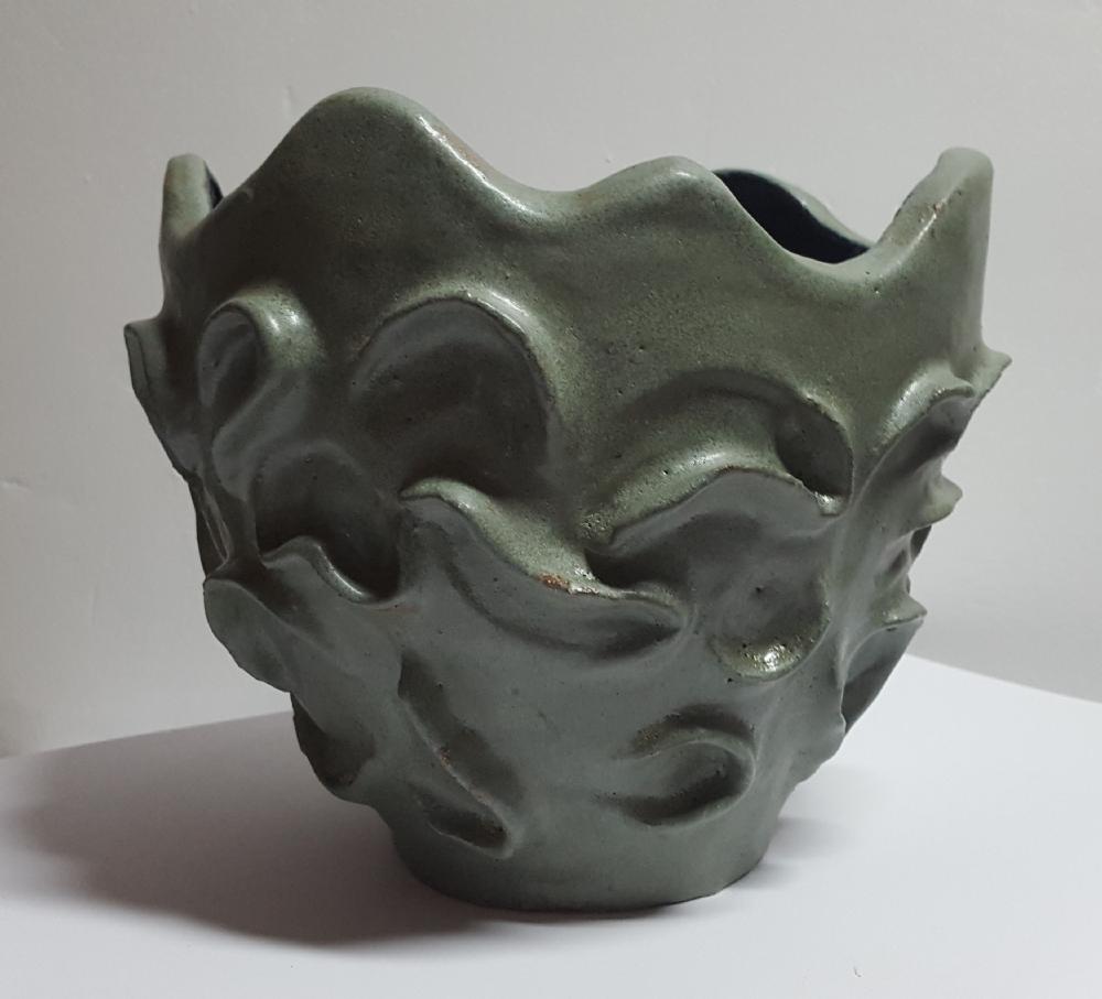 Stentøjskrukke uden titel | Keramik