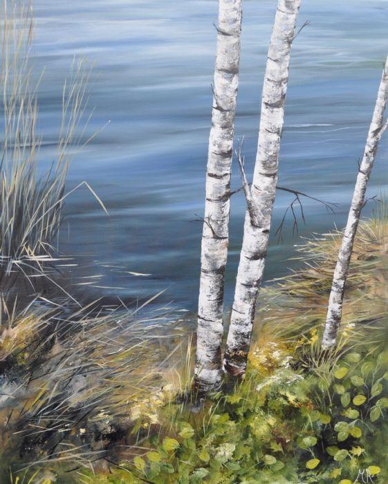 Langs med bredden 2 | Maleri