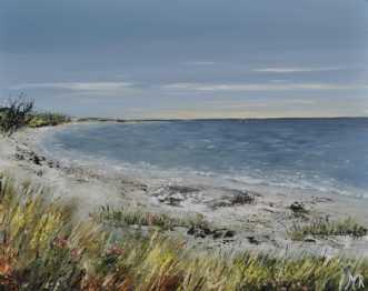 Danske strande nr 3afMerete Roy