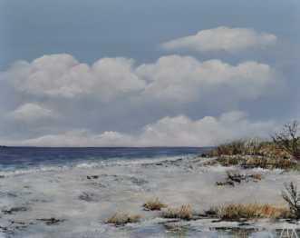 Danske strande nr 4afMerete Roy