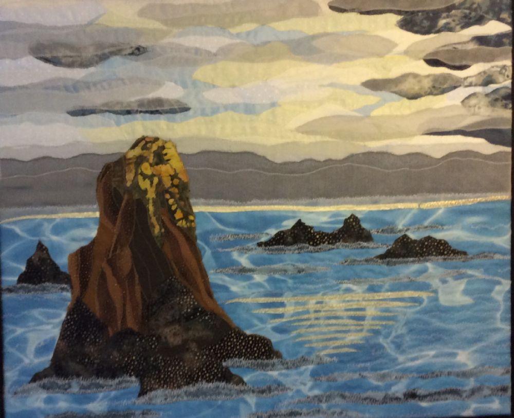 Klippe i havet   Pia Steen