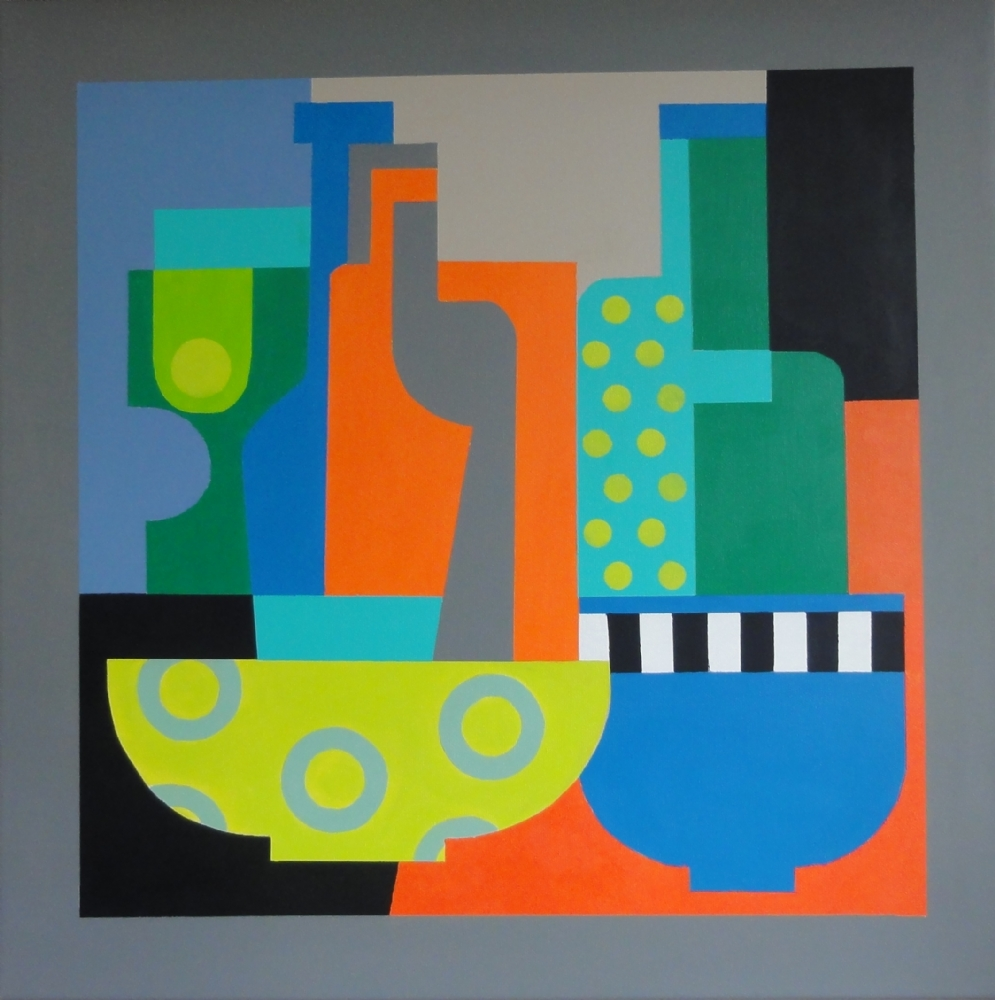 Interiør III | Maleri