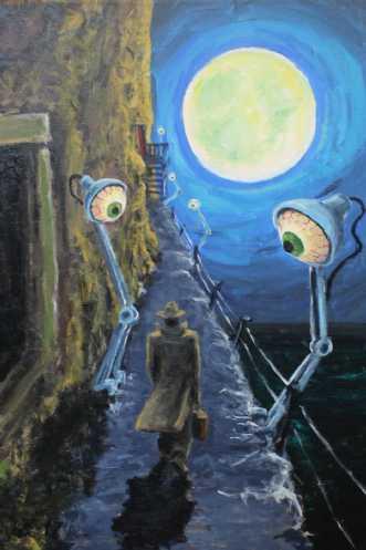 Den rejsende - Øjne