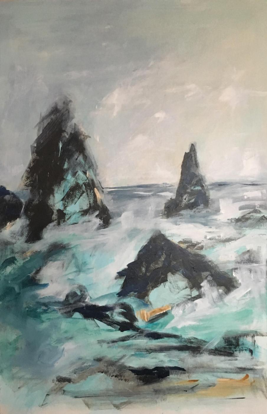 Beware - the black beach | Maleri