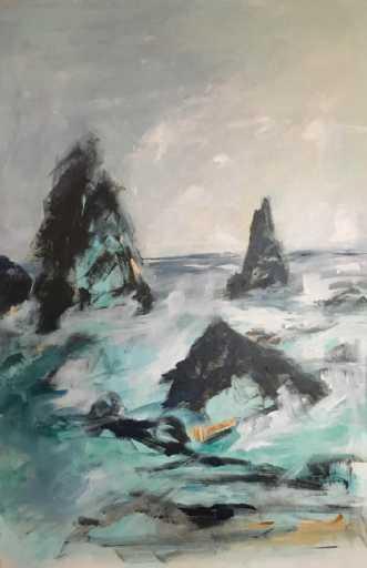 Beware - the black beachafBirthe Villauma
