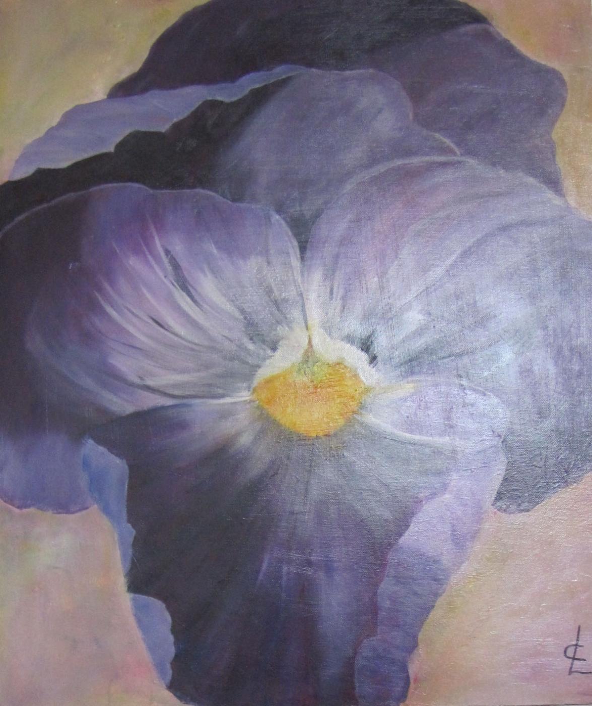 blå viol  