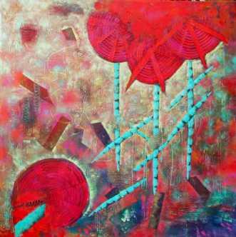 Red FlowersafLykke Mørch