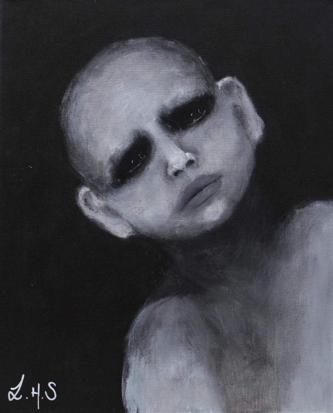 Han som aldri elsket meg | Maleri
