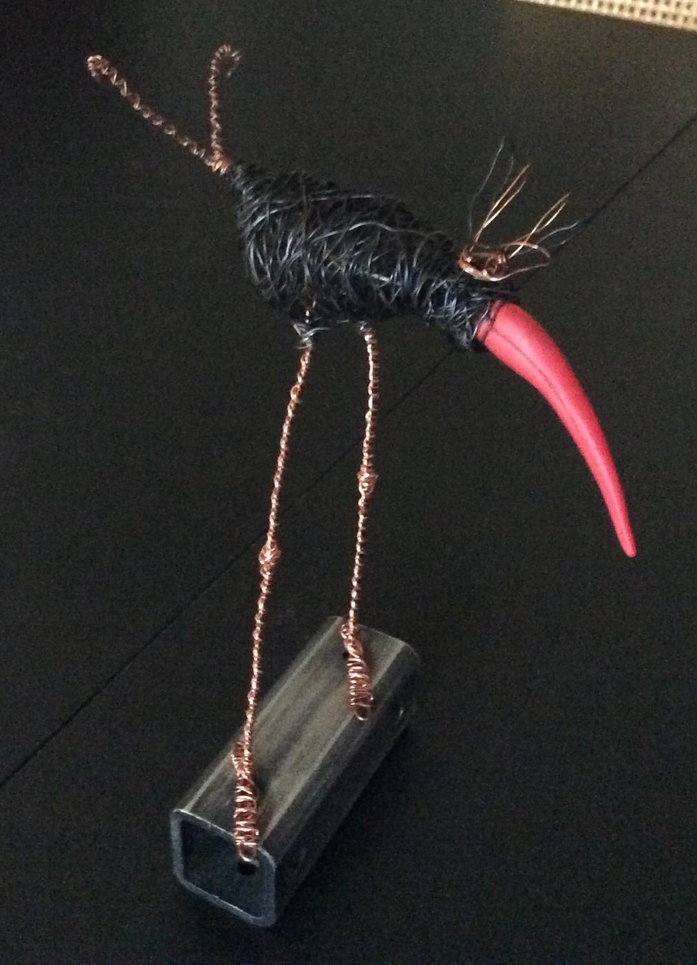 Paradisfugl | Skulptur