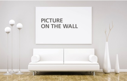 picture on the wall
