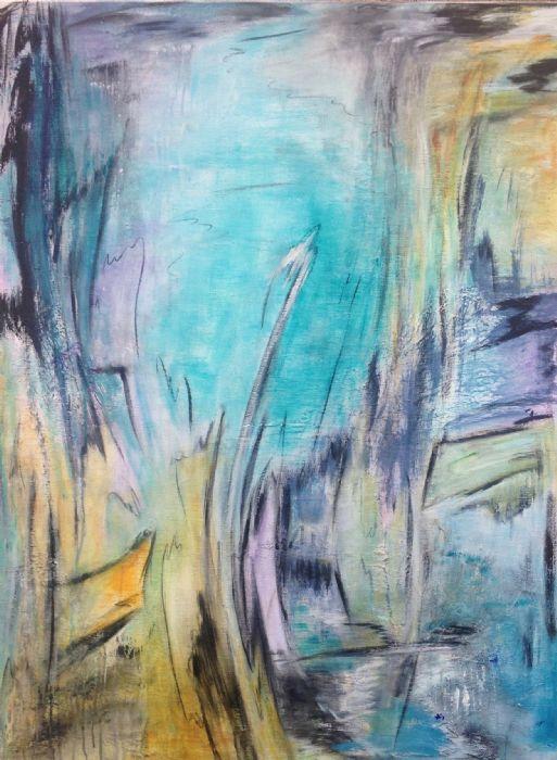 Blue Flame | Maleri