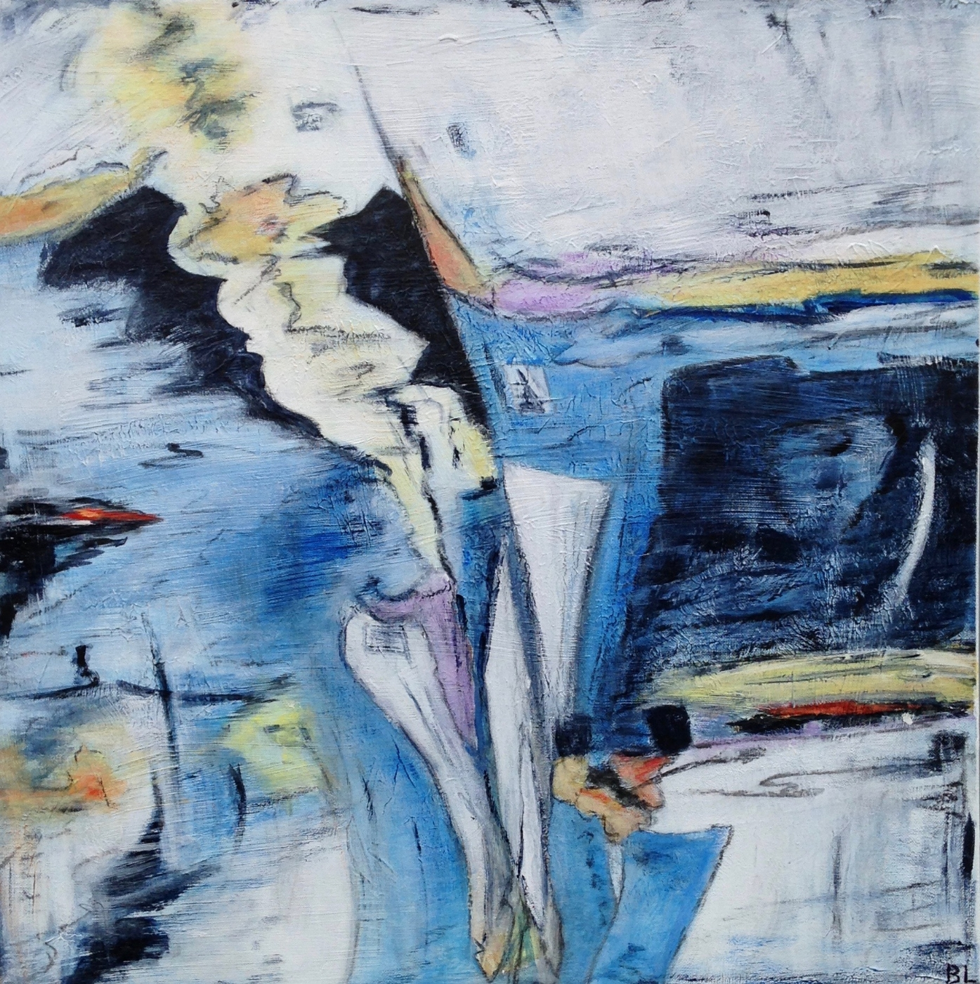 Blue Riff III | Maleri