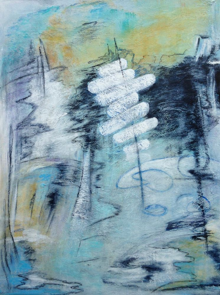 Blue ice | Maleri