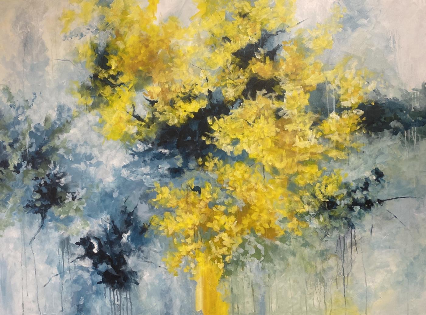 Guldregn | Maleri