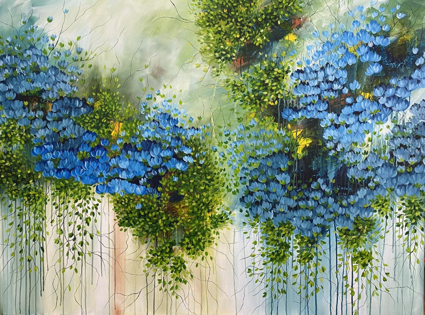 Blue Moon | Maleri
