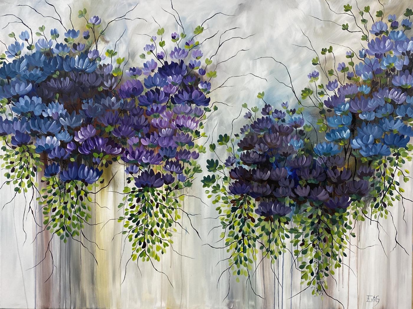 Stille stunder | Maleri