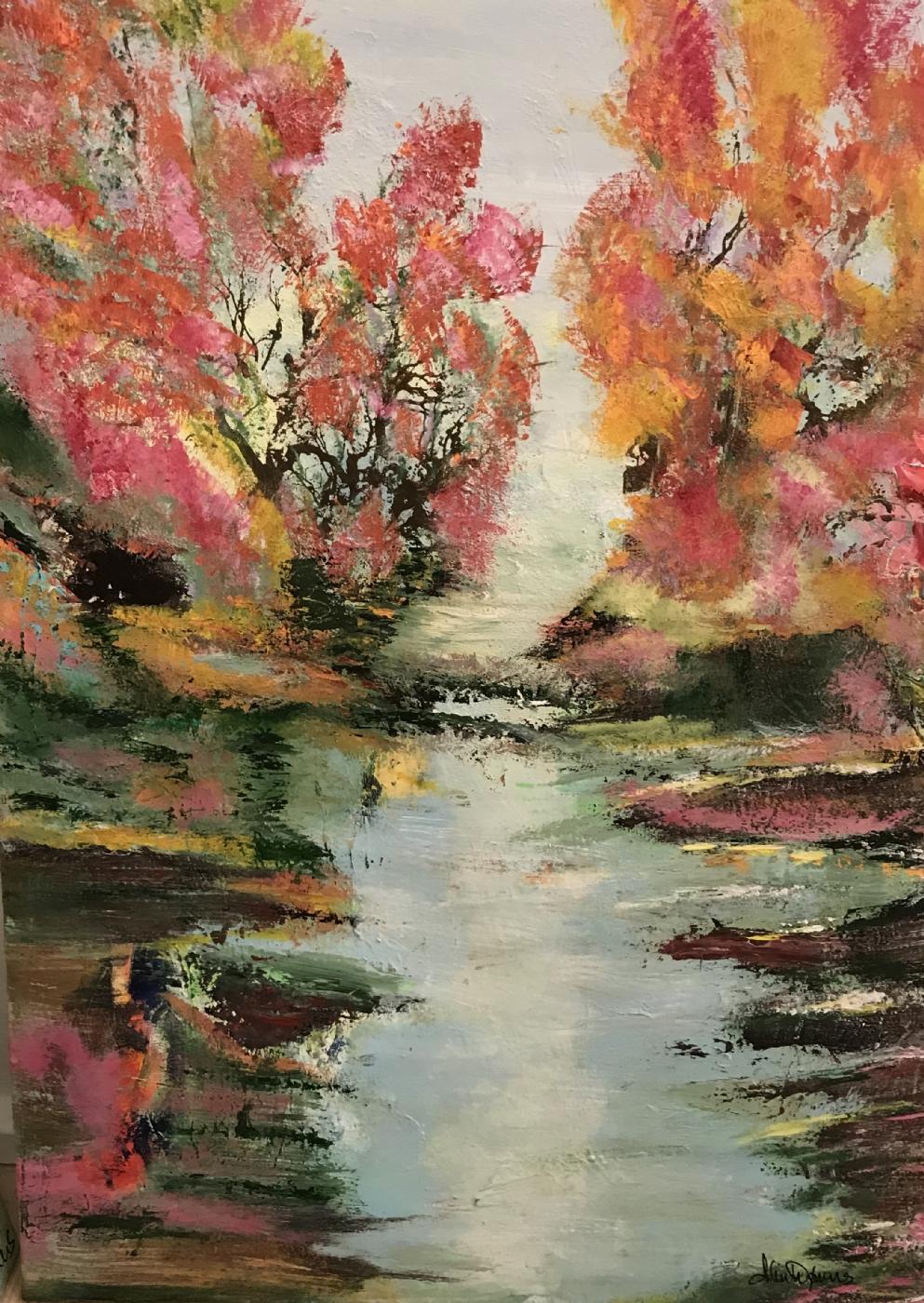 Autumn nature colors | Maleri