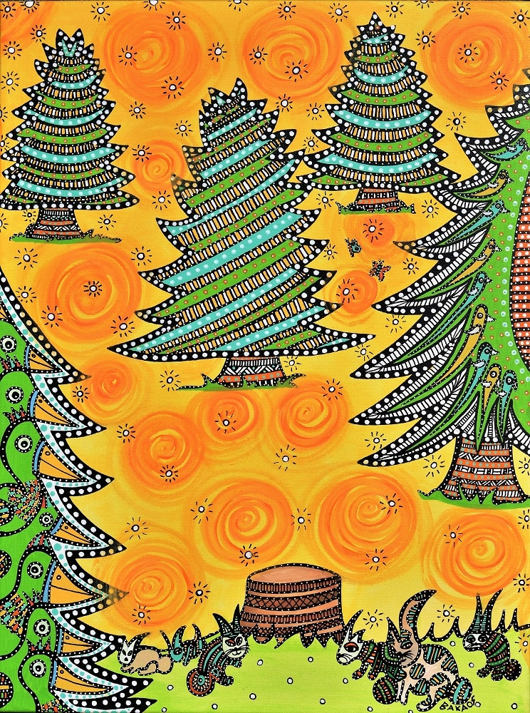 Grantræet | Kunst