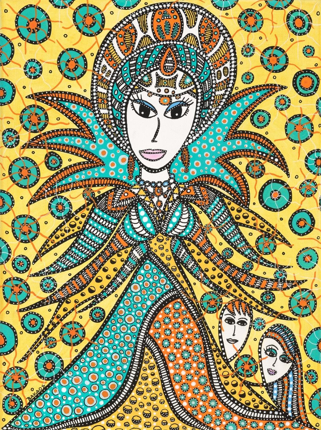 Snedronningen / The Snow Queen  | Maleri