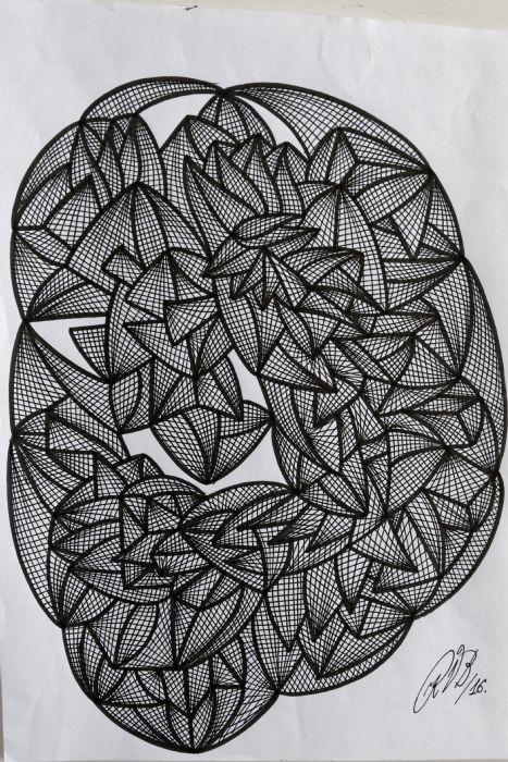 Abstrakt 5 | Tegning