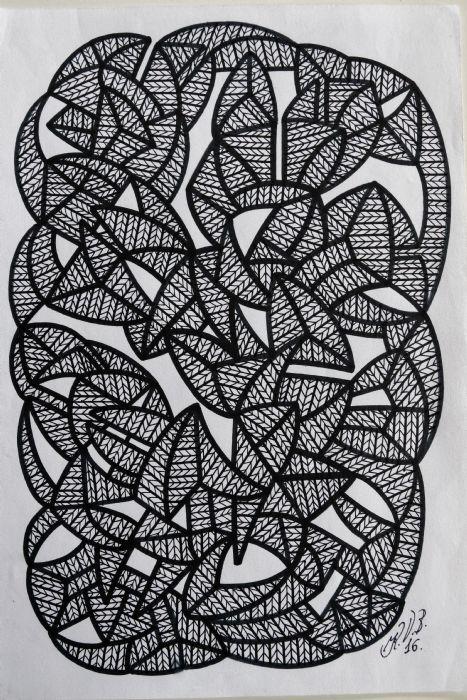 Abstrakt 6 | Tegning