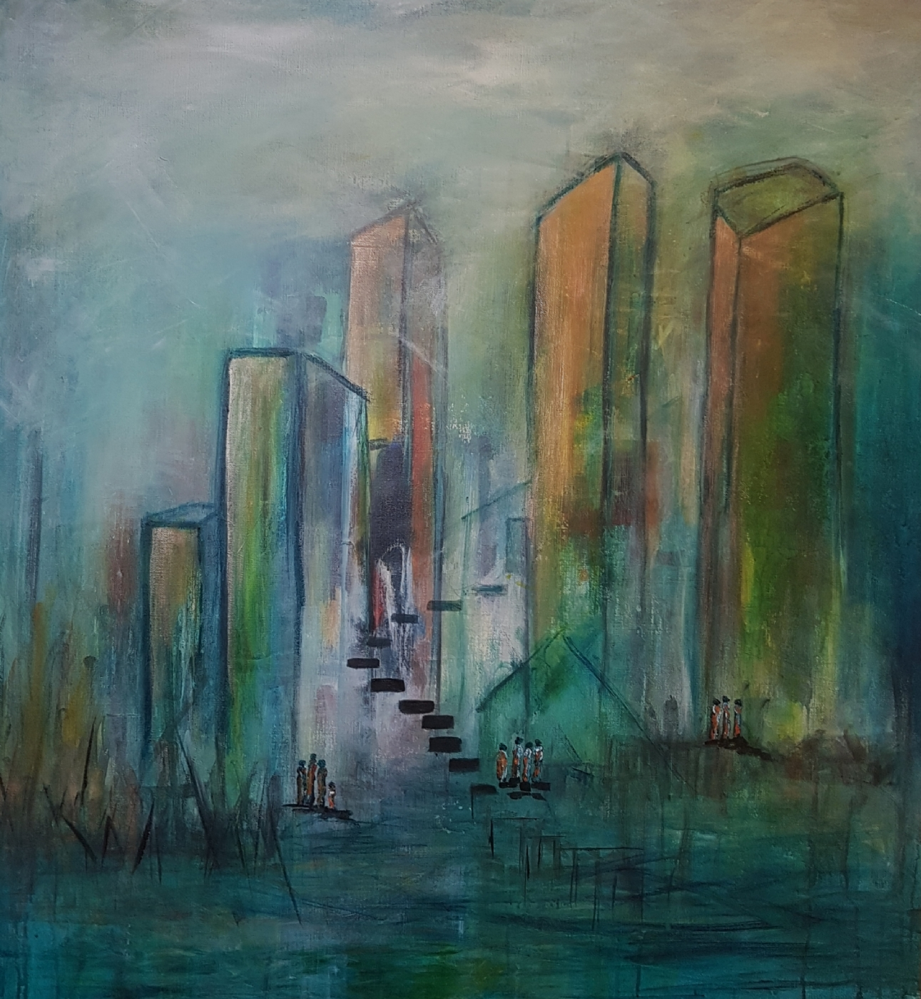 Midnight Town | Maleri