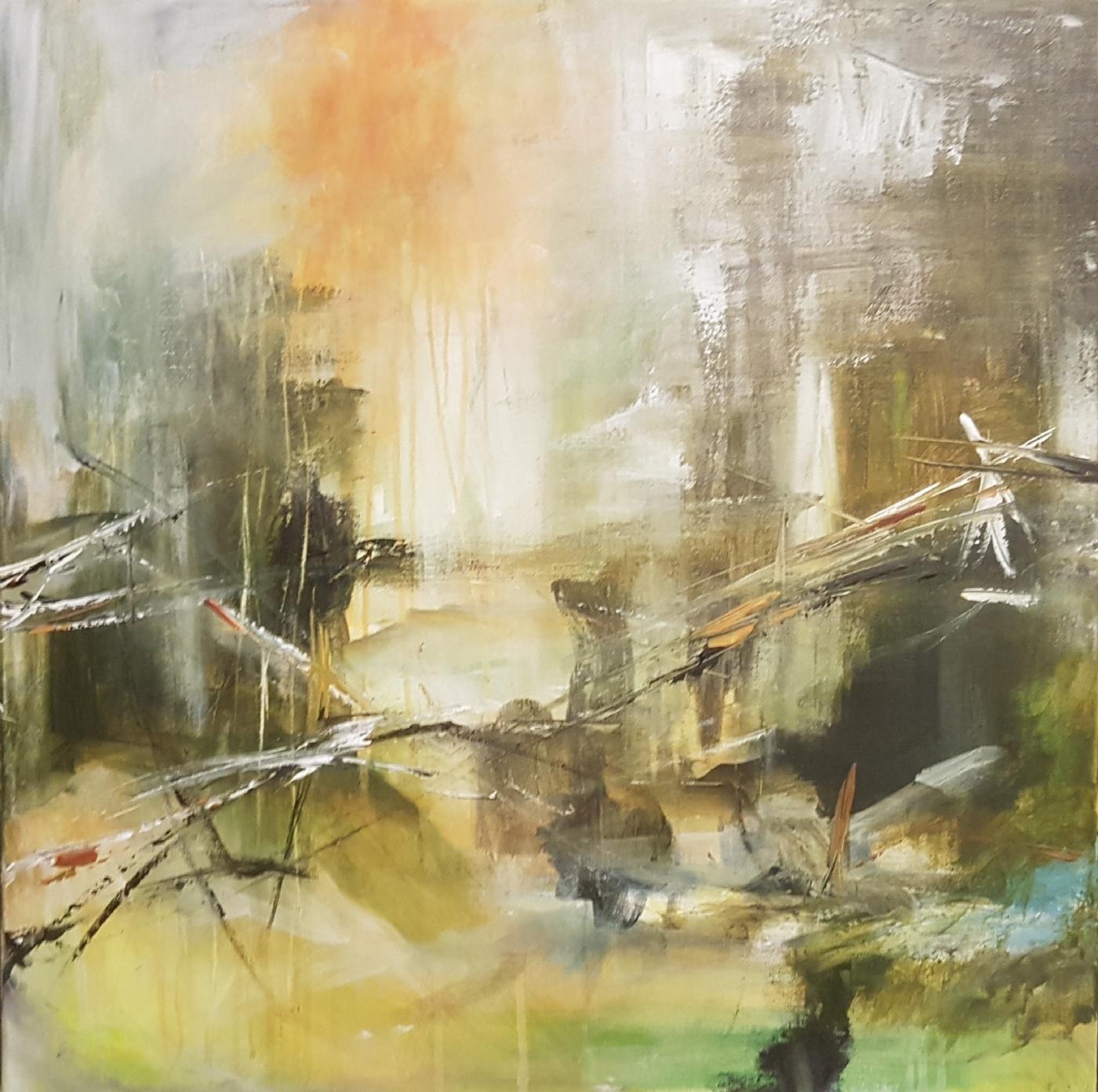uden tittel | Maleri
