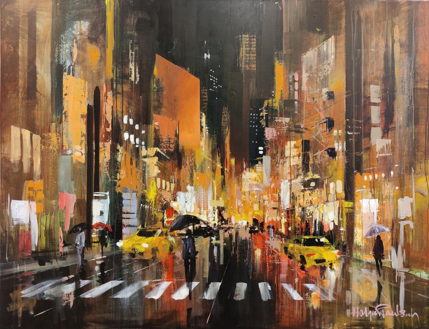 Manhattan by night | Maleri