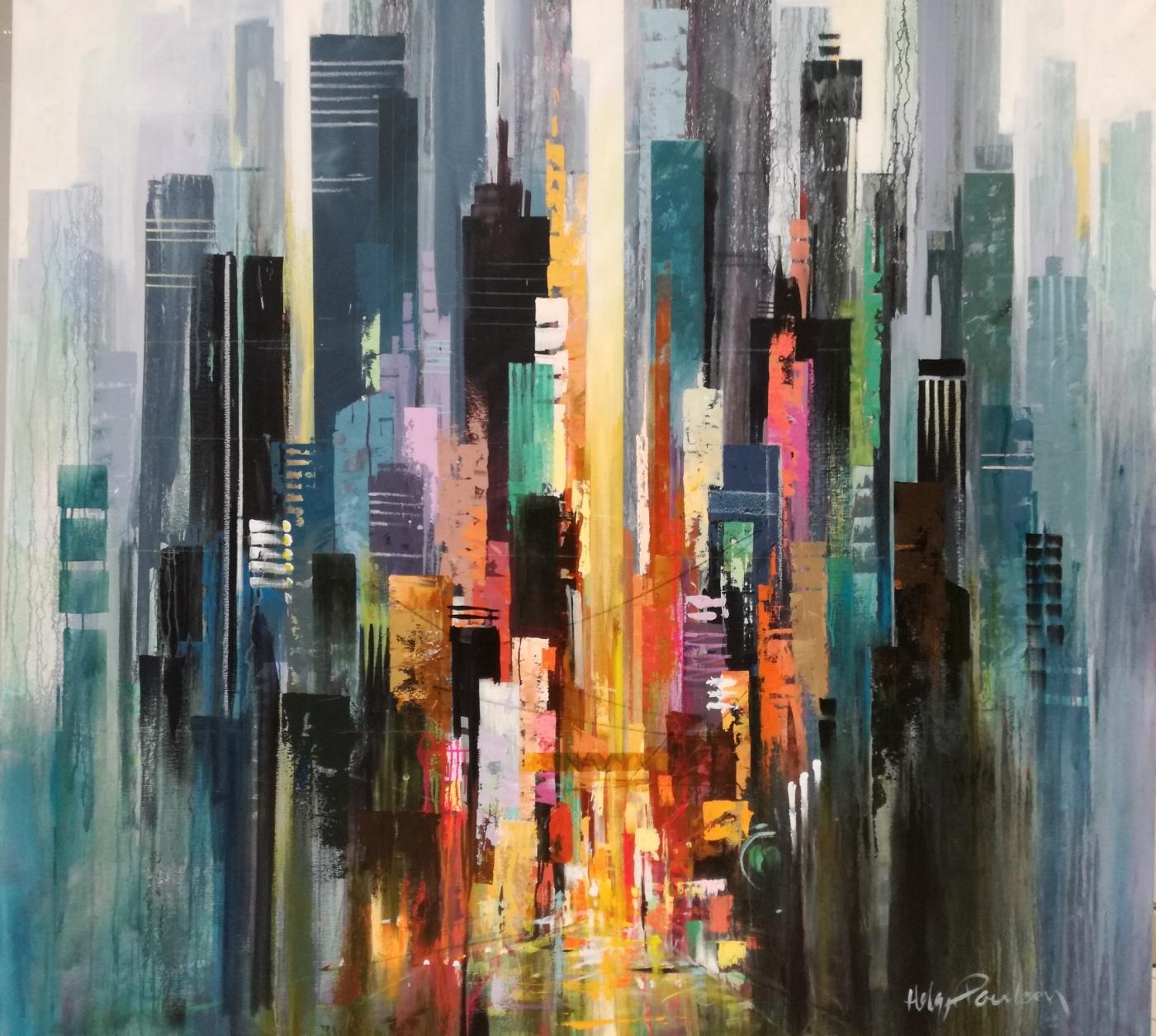 Motiv fra Manhattan | Maleri