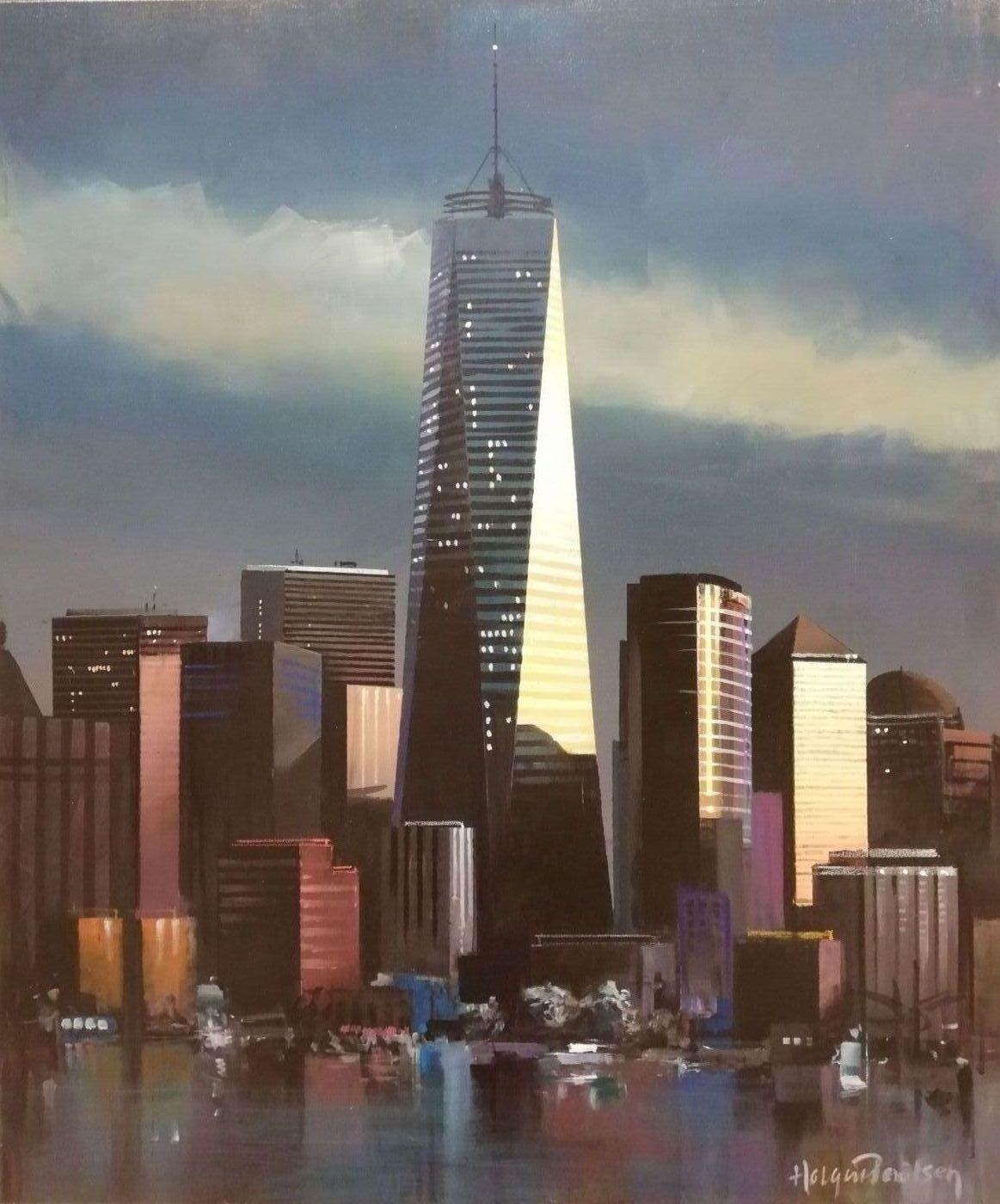 Manhattan, Ground Zero | Maleri