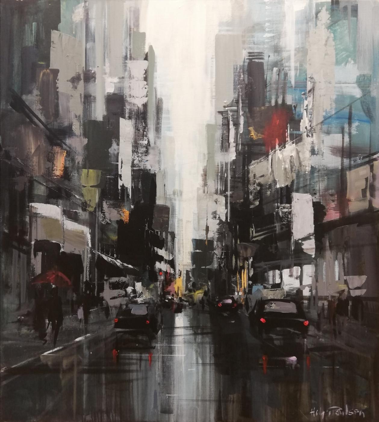 Manhattan, 6th avenue | Maleri